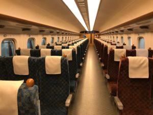 九州新幹線自由席